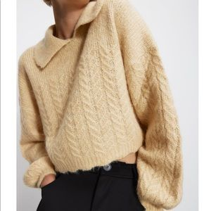 Special edition luxurious wool blend sweater.